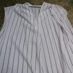 990円のプチプラデザインシャツ!着回しが出来て1枚あると便利です