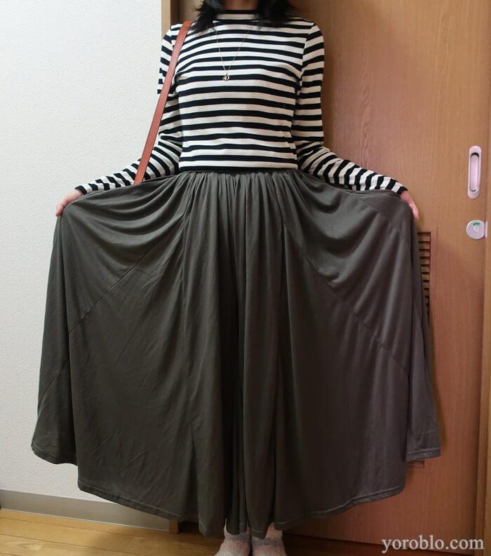 パンツだけどスカートみたい