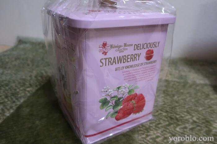ケーニヒスクローネの苺缶