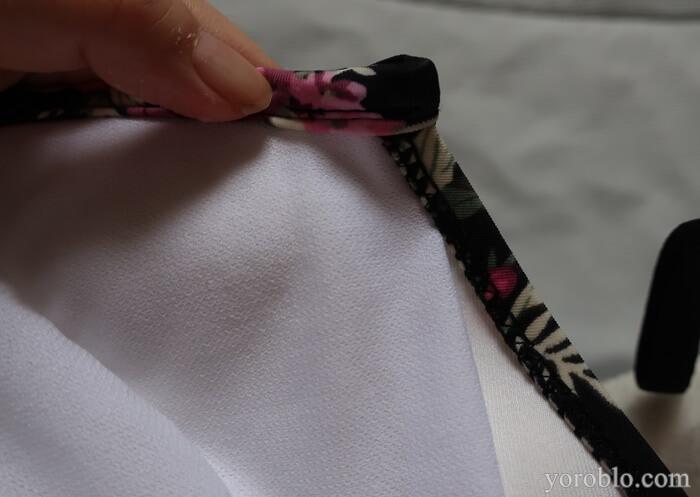 縫製もしっかりしている