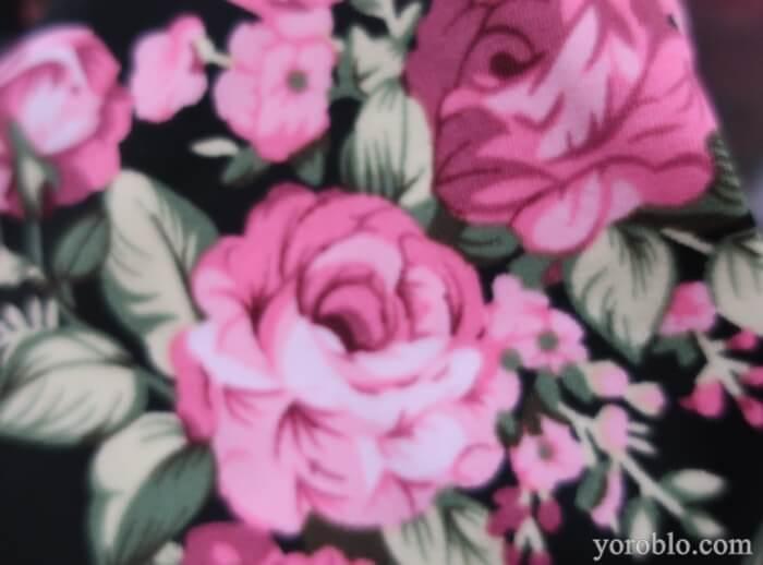 薔薇柄が素敵