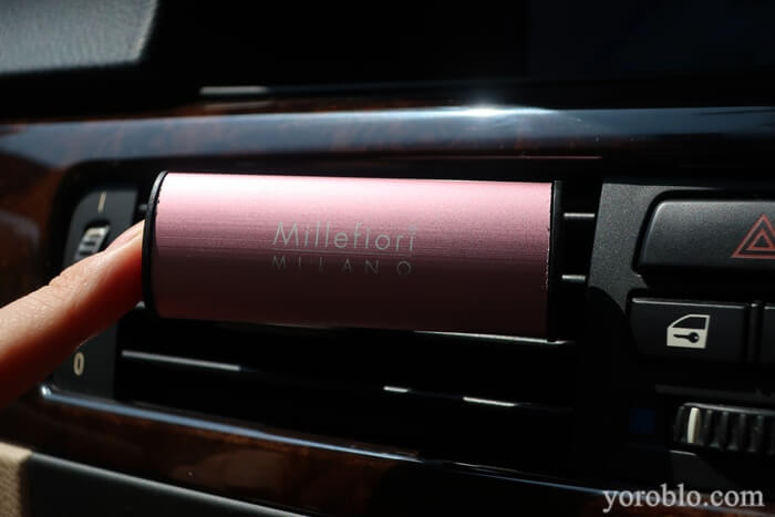 ミッレフィオーリ 車用芳香剤 ICON