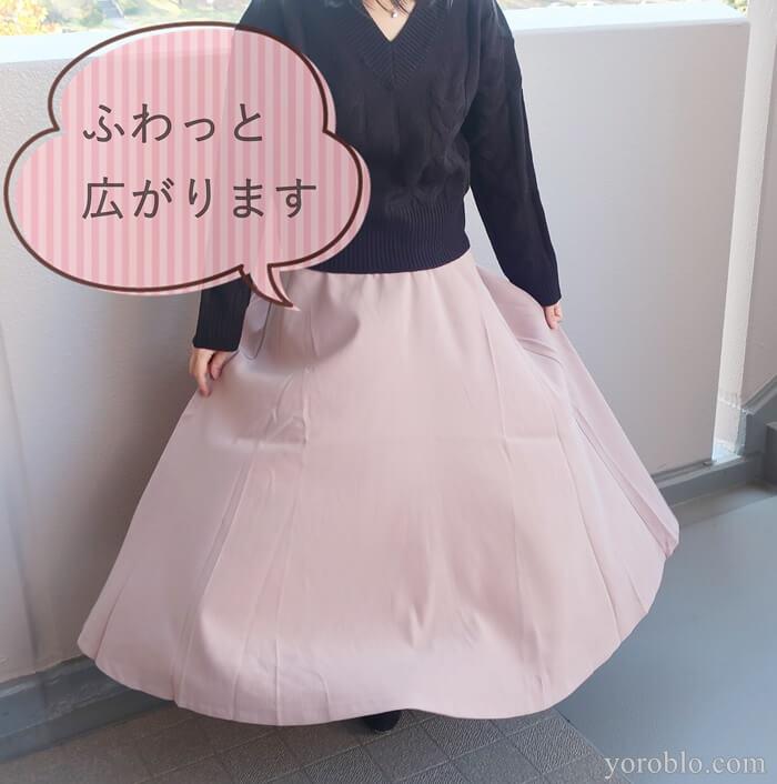 Re:EDIT(リエディ)のロングスカート