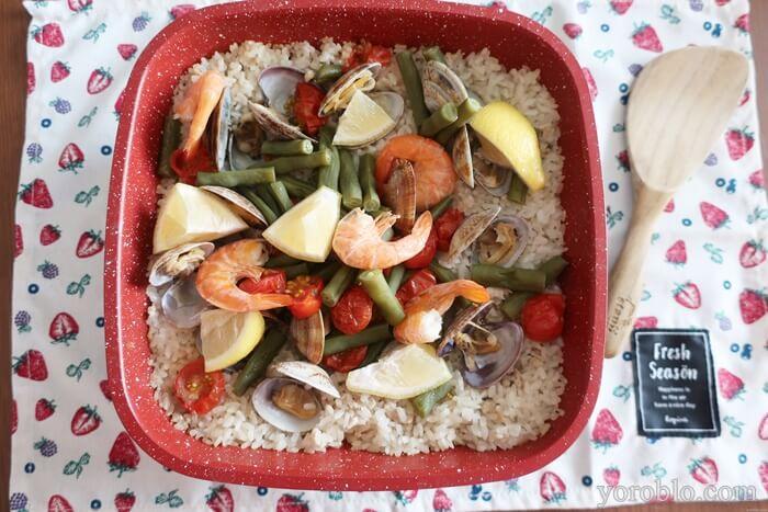 フレーバーストーンで作るラザニアのレシピ