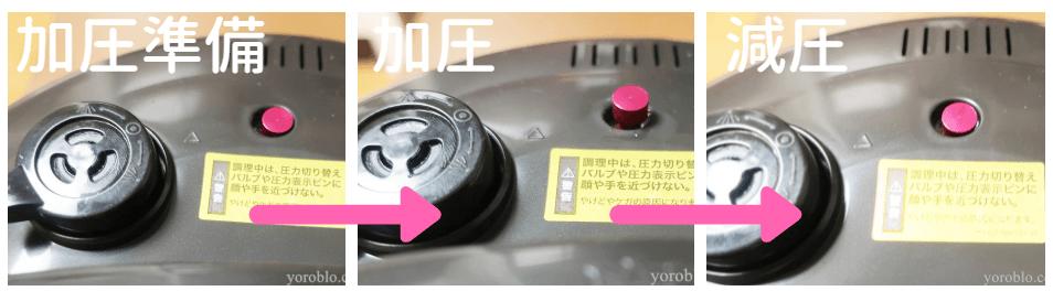 電気圧力鍋プレッシャーキングを使ってみた